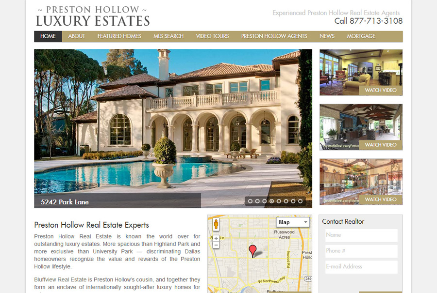 Preston Hollow Luxury Estates
